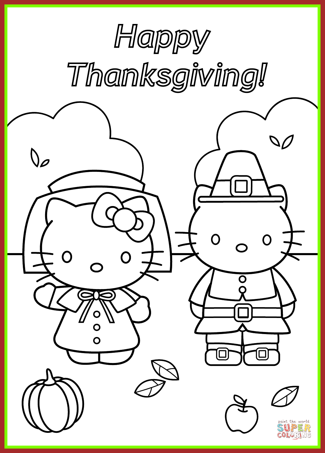 Found On Bing From Manchestercapitalism Co Uk Hello Kitty Coloring Thanksgiving Coloring Pages Hello Kitty Colouring Pages