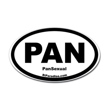 PanSexual Oval Stickers on CafePress.com