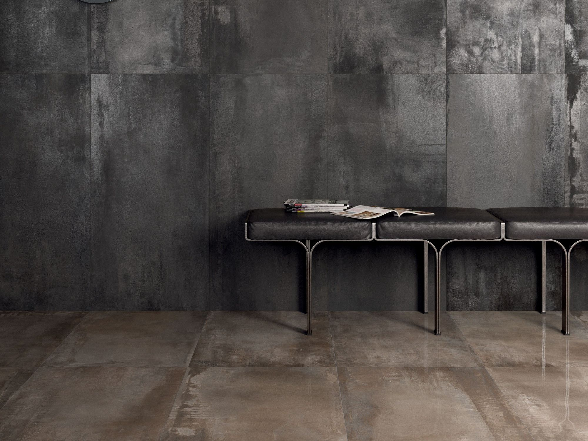 Pavimento rivestimento in gres porcellanato interno 9 by - Metallic fliesen ...