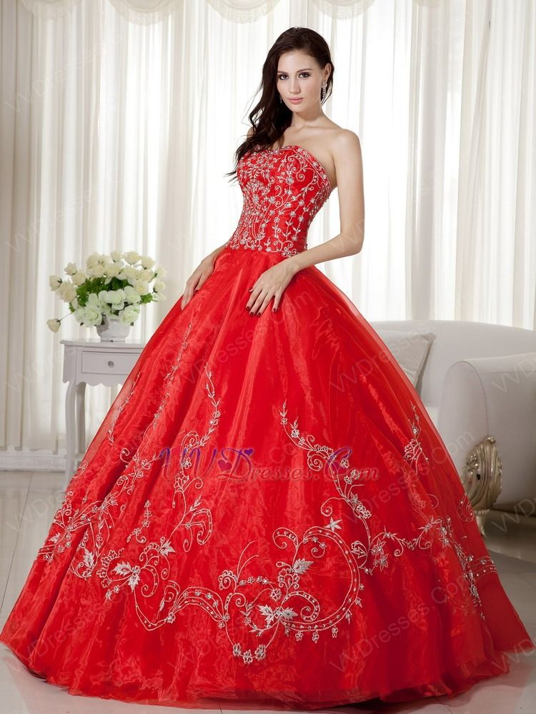 most beautiful red ball gowns ever - Google Search | amazing dresses ...