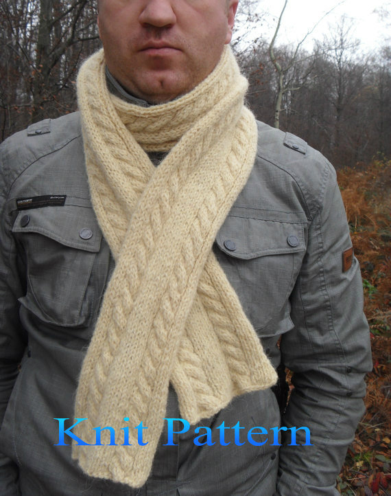 Knitting Scarf Pattern Knitting Pattern Scarf Pattern Scarf Knit