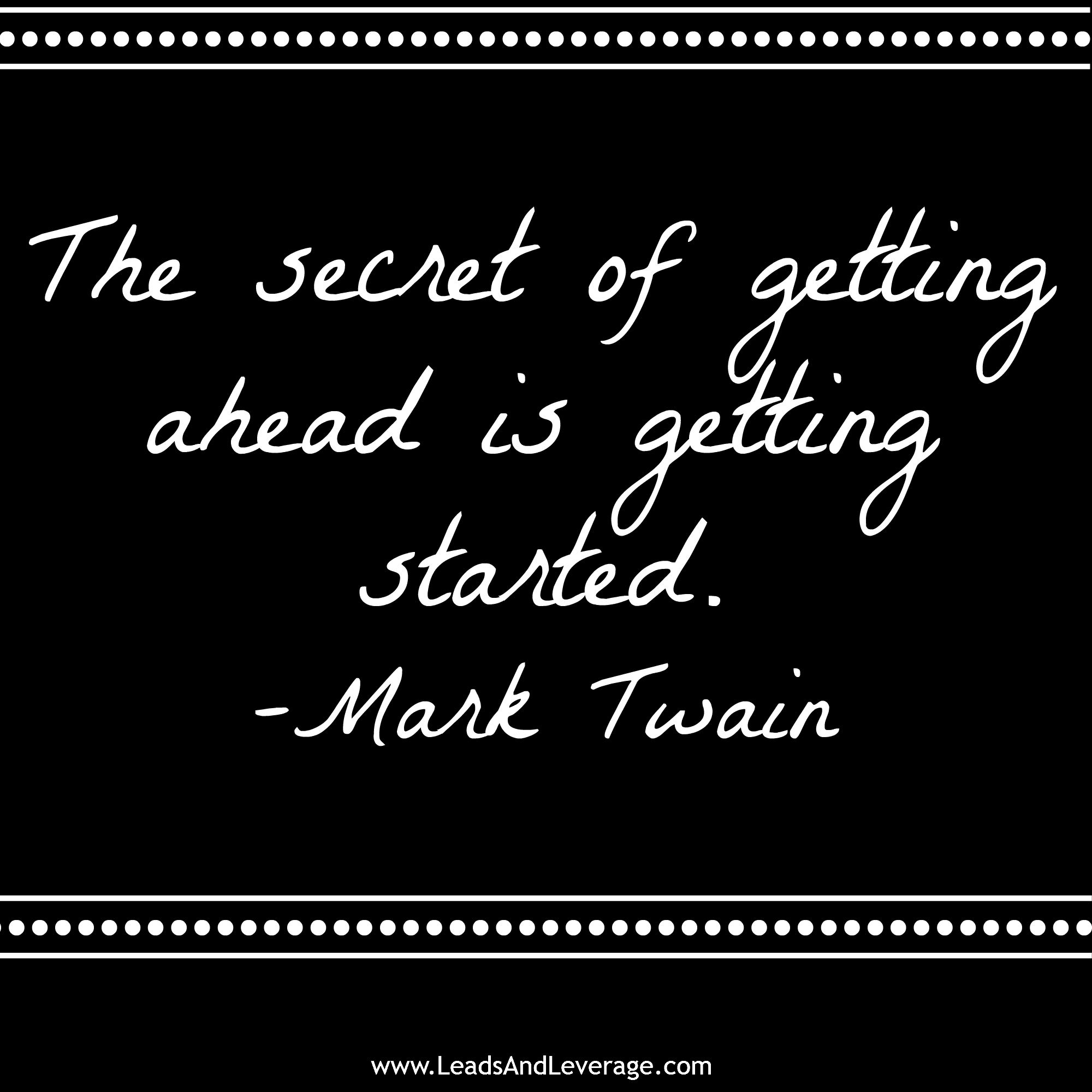 Quote Author Mark Twain  LeadsandleverageCom Helping Real