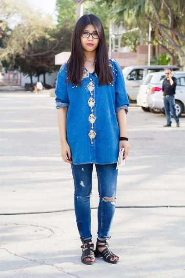 Street Fashion from Delhi!. Street Fashion from India Pinterest 96