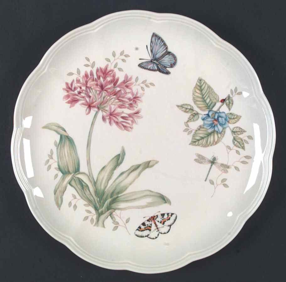 Butterfly Meadow Dinner Plate By Lenox Lenox Butterfly Meadow
