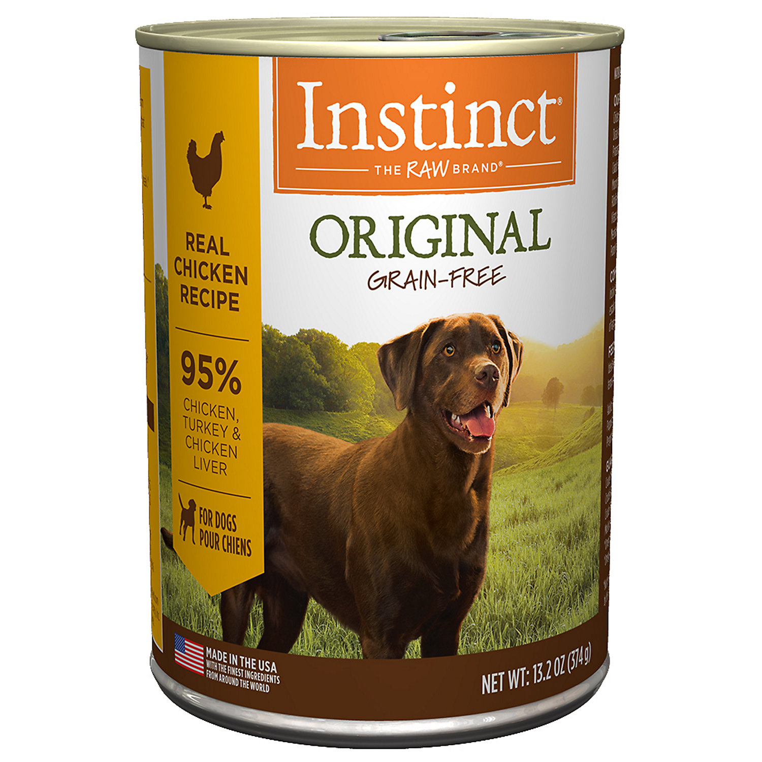 Instinct Grain Free Chicken Formula Canned Dog Food By Nature S