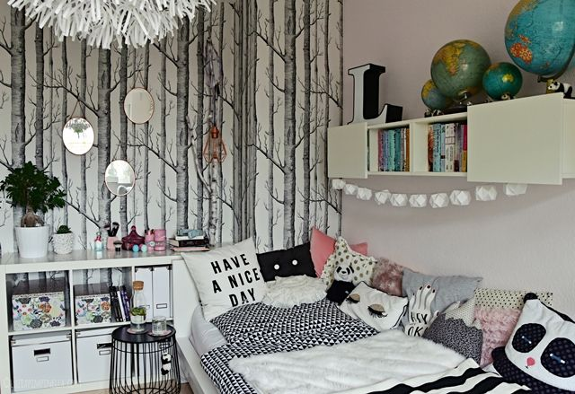 interior teenager m dchen zimmer teen room makeover zimmer. Black Bedroom Furniture Sets. Home Design Ideas
