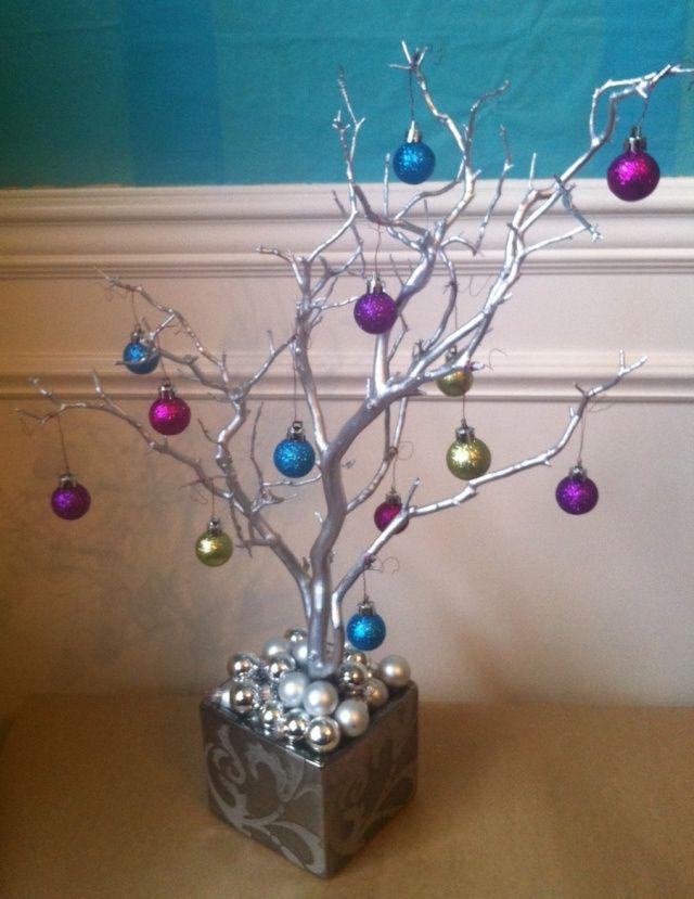 Metallic Manzanita Tree Day 4 Metal Christmas Tree Manzanita Tree Metallic Christmas