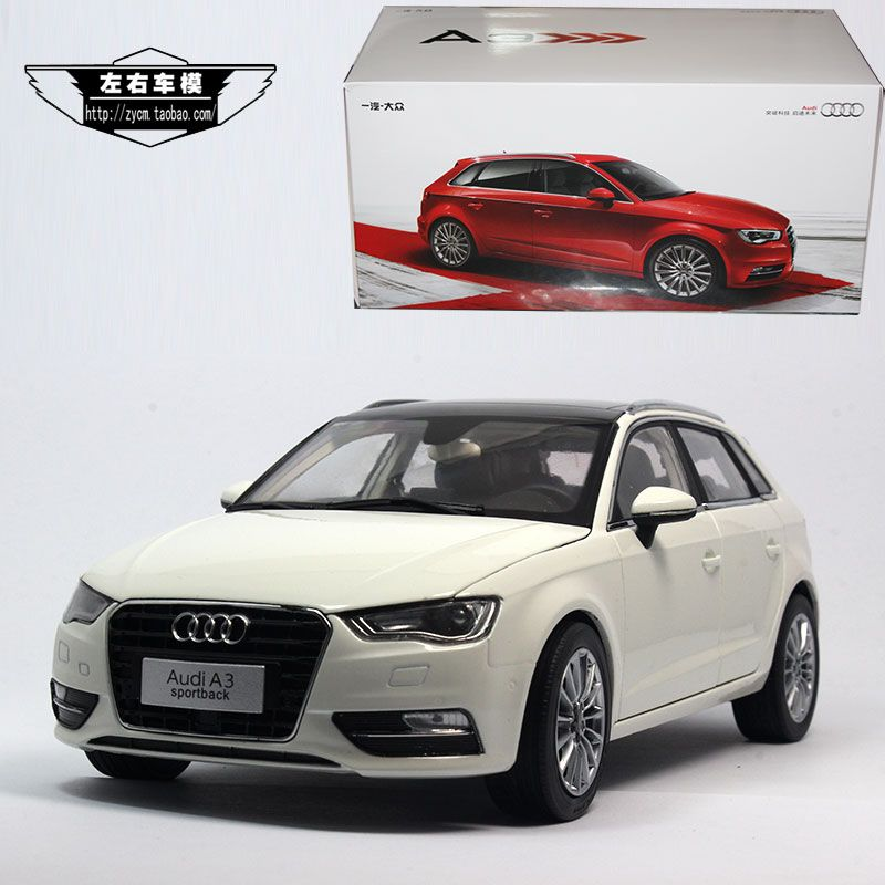 1//18 Scale Audi A3 Sportback Gray DieCast Car Model Toy Collection Gift