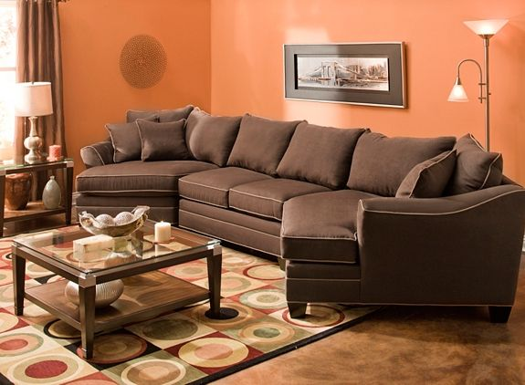 Best Foresthill 3 Pc Microfiber Sectional Sofa Sectional 400 x 300