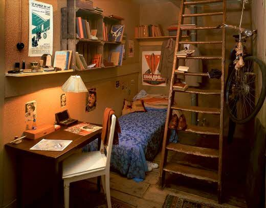 The Hiding Place Anne Frank House Attic Rooms Anne Frank