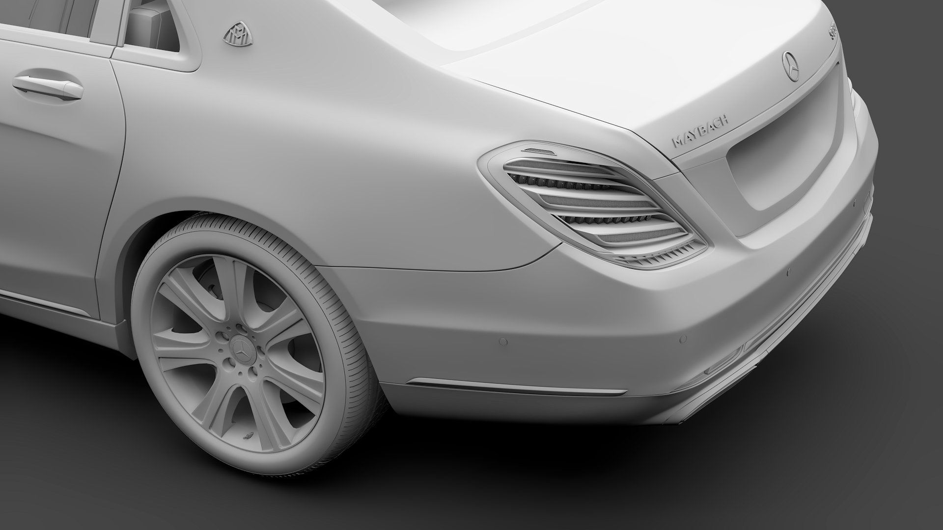 Mercedes Maybach S 650 Guard X222 Easily Correctly Materials