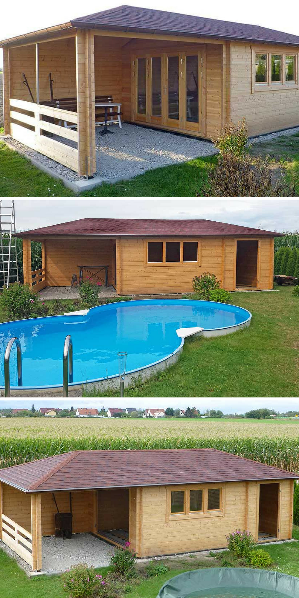 Gartenhaus Montana 44: Refugium als Wohn  und Partyhaus | Tiny