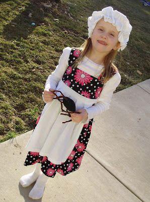 Pacountrycrafts Little Miss Muffet From An Old Tshirt Tutorial Little Miss Muffet Costume Nursery Rhyme Costume T Shirt Tutorial