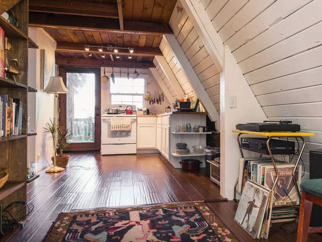 Peek Inside This Adorable A-Frame Cabin in California | Cabin ...