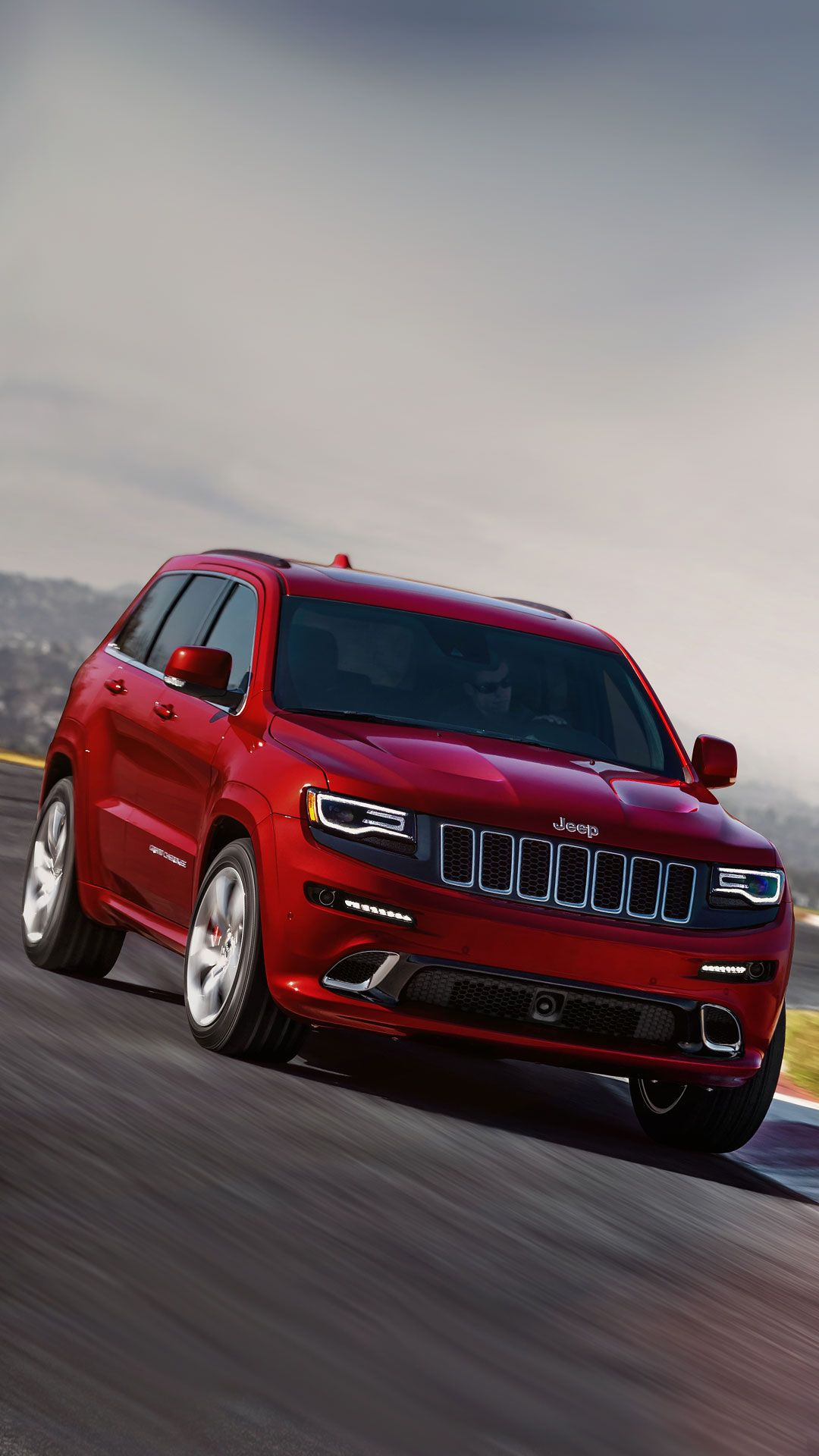2017 Jeep Grand Cherokee Wallpaper IPhone 6 Plus