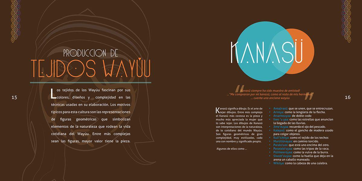 Catálogo Kanasü - Tejiendo Cultura- Artesanias Wayuu on Behance