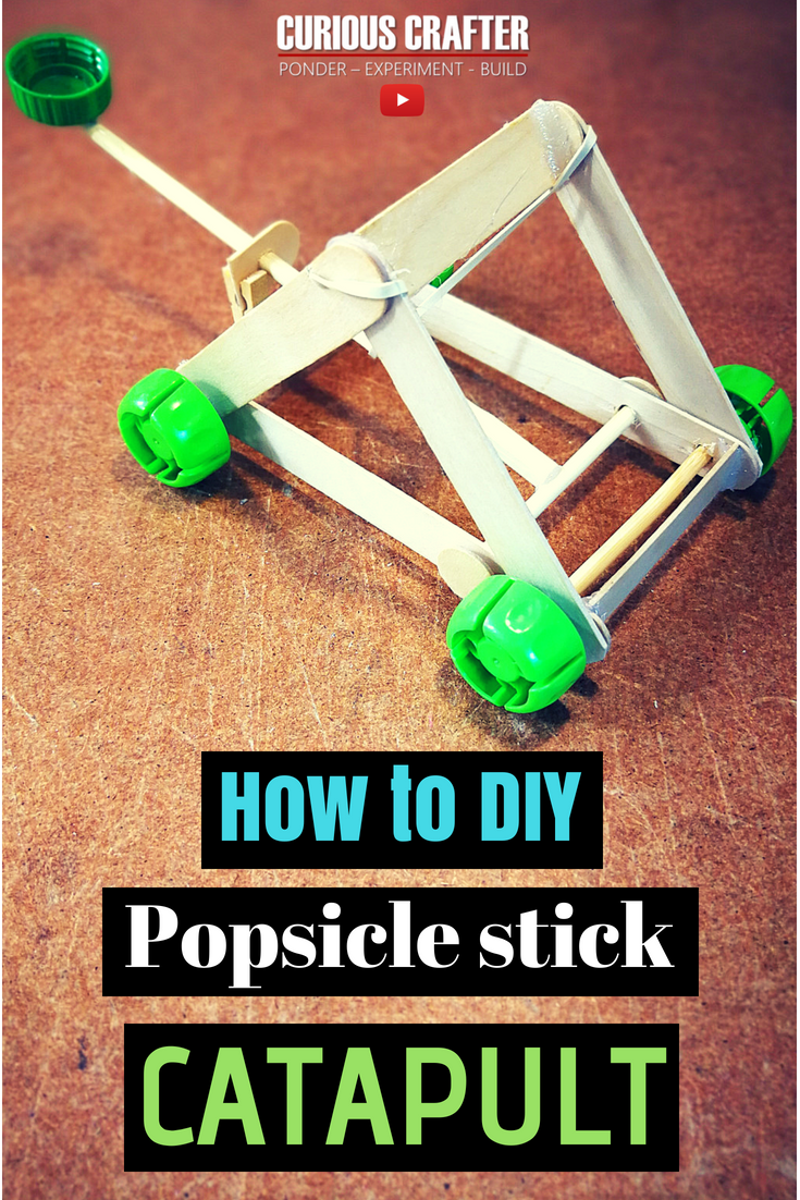 How To Make A Popsicle Stick Catapult On Wheels That Shoots The Catapult Is Made Of Popsicle Sticks Ho Popsicle Stick Catapult Catapult Popsicle Stick Houses [ 1102 x 735 Pixel ]