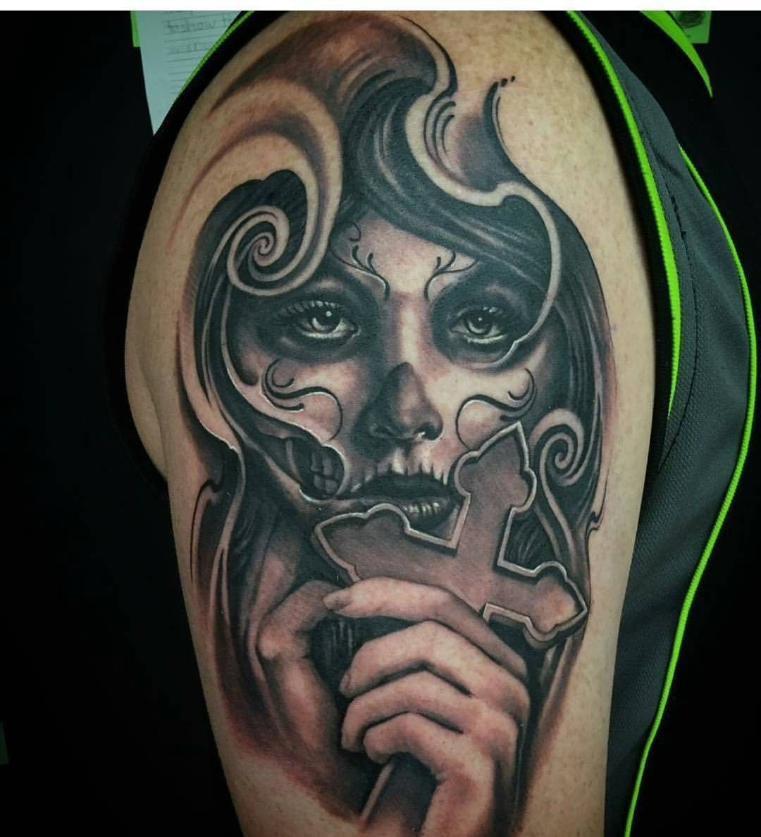 pin de gabito lucero en tattoo dise os pinterest tatuajes dia de los muertos y disenos de unas. Black Bedroom Furniture Sets. Home Design Ideas