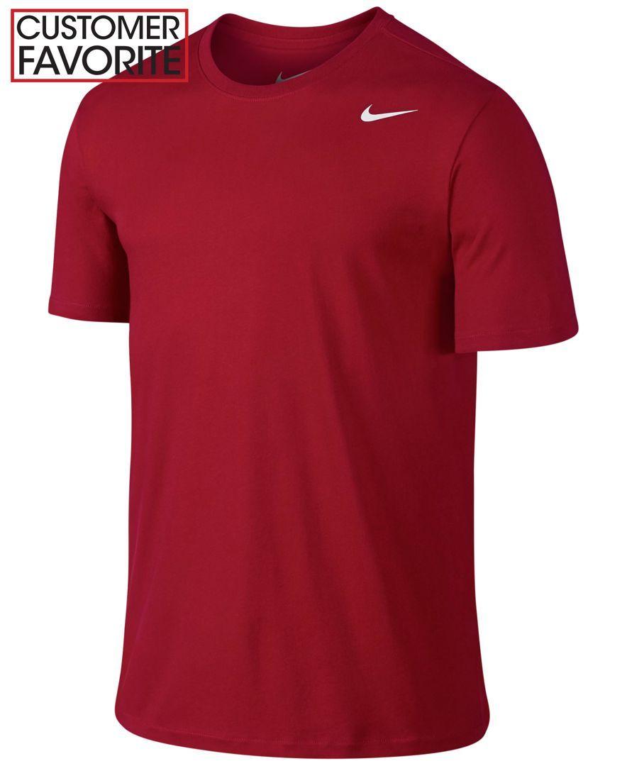 0a08f85ac0 Nike Dri-Fit Crew Neck Tee | Products | Nike dri fit shorts, Nike ...