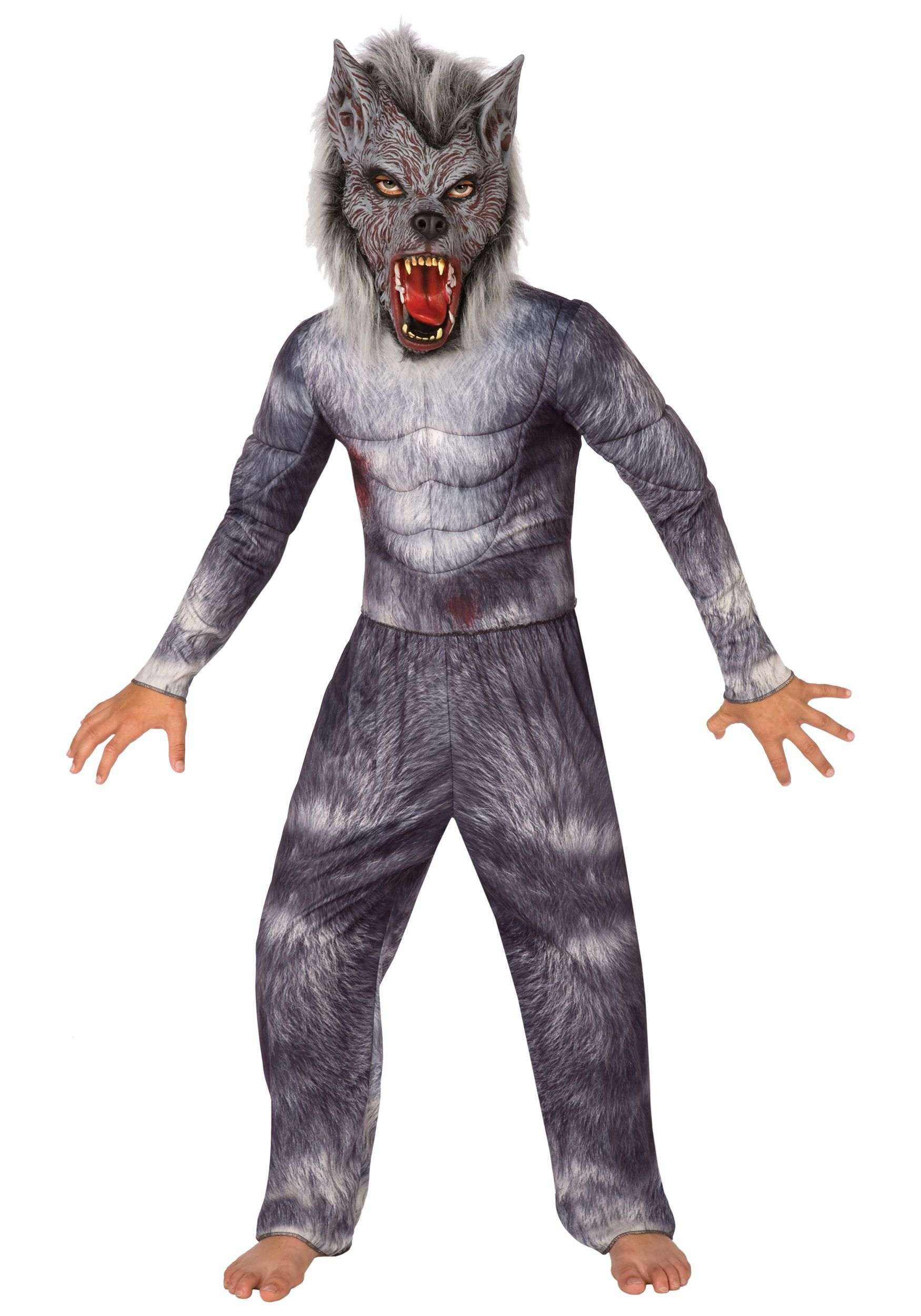 homemadegirlwerewolfhalloweencostume boys werewolf costume - Wolf Halloween Costume Kids