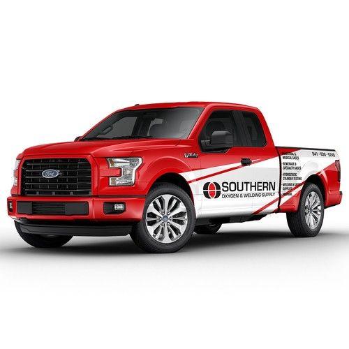 Southern Needs A Truck Wrap Car Truck Or Van Wrap Contest Car Truck Van Design