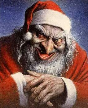 Worst Santa Claus in a Great Illustration Ever?  Evil Santa!