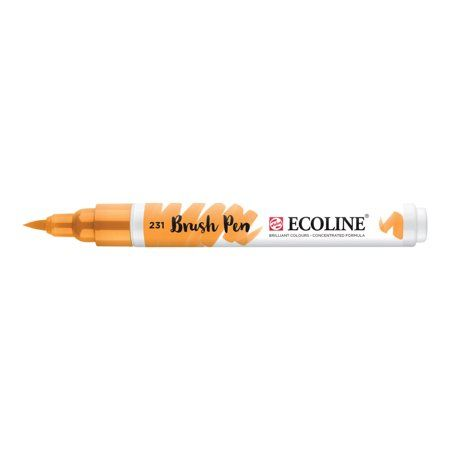 Ecoline Liquid Watercolour Brush Pen Gold Ochre Watercolor