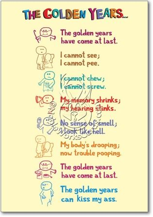 Golden Years Card | Asra | Birthday poems, 60th birthday quotes