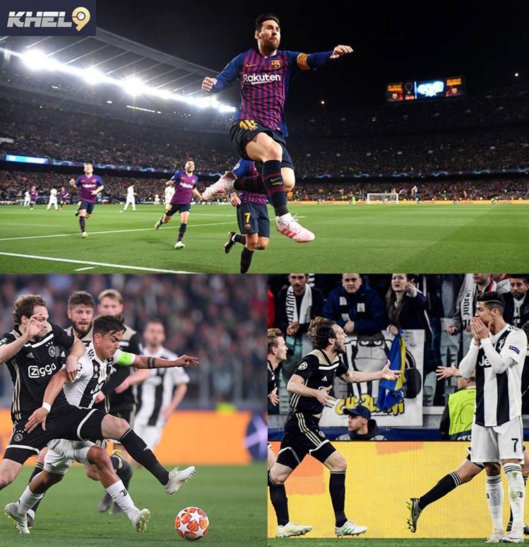 Ajax knock out Juve and end Ronaldo run (With images