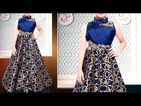 153cceff9f HOW TO CUT AND SEW DOUBLE SLIT KURTI / MASTANI DRESS MAKING - STEP BY STEP  - DIY - YouTube | Cool | Box pleated dress, Box pleat skirt, Box pleats