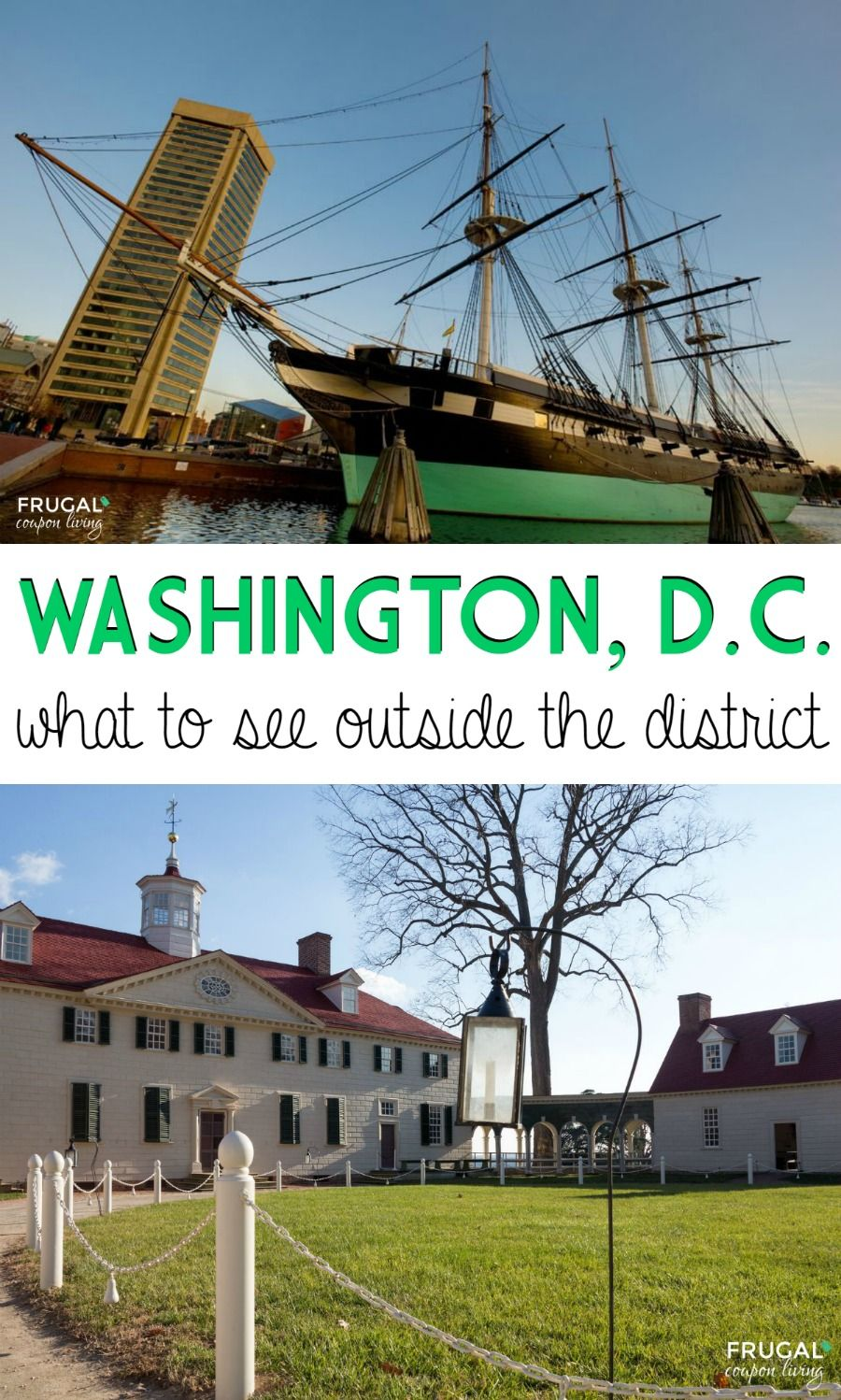 Washington, DC Travel Tips - What To Do OUTSIDE the ...