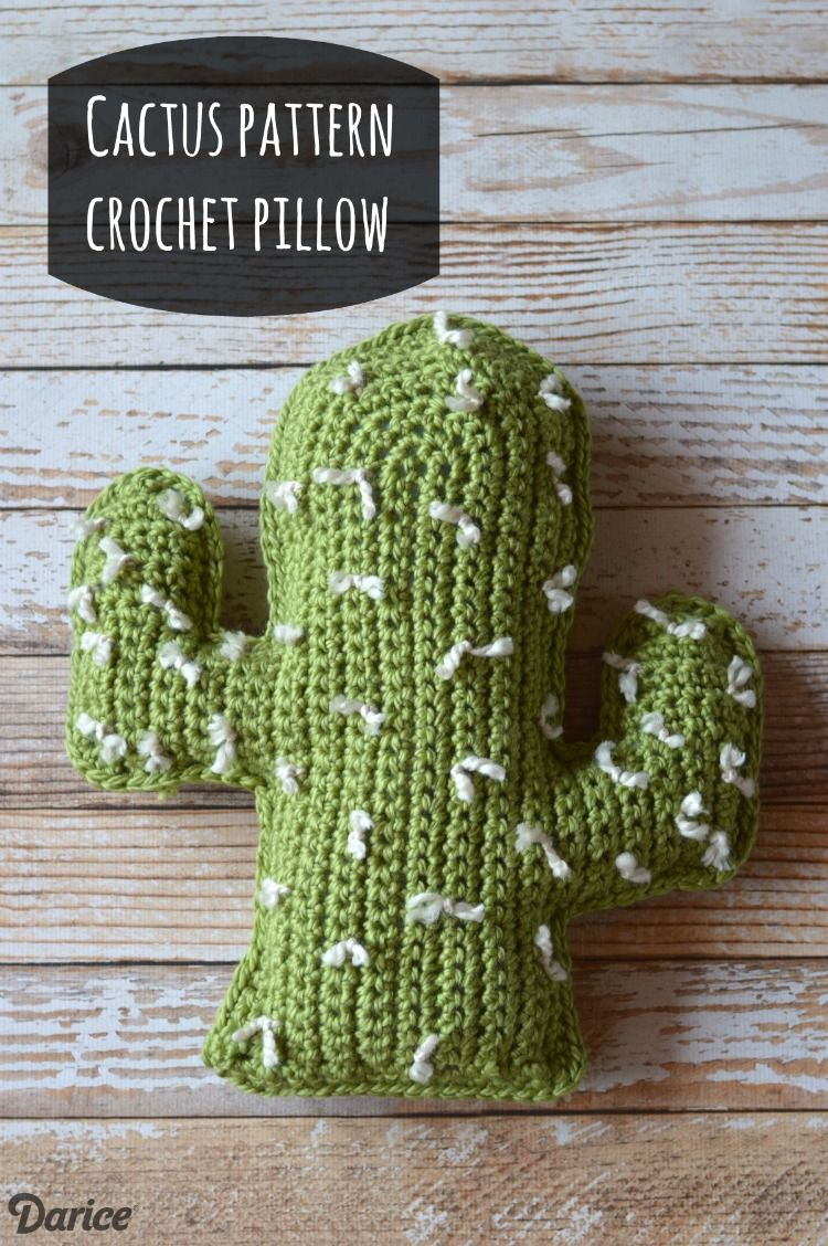 Crochet cactus pattern pillow free tutorial darice crochet crochet cactus pattern pillow free tutorial darice bankloansurffo Choice Image
