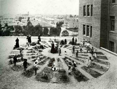 Unidentified kindergarten from the Brosterman's Inventing Kindergarten, Los Angeles, c.1900.