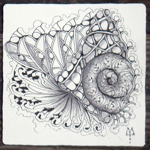 Zentangle: More Betweed, Maria Thomas.