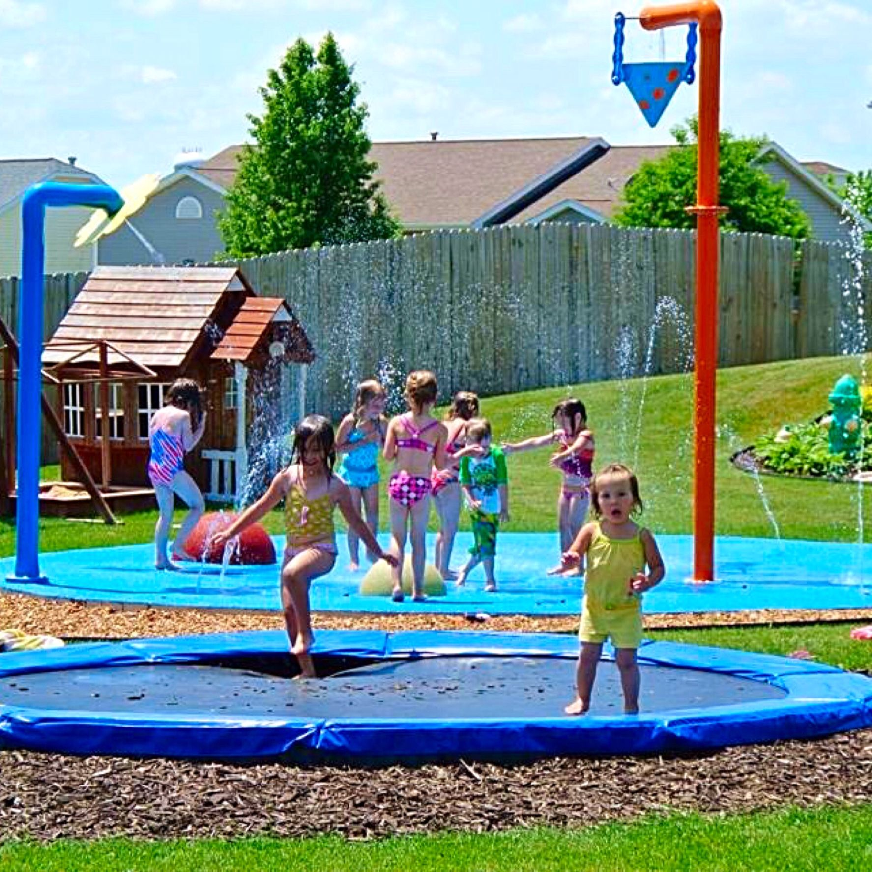 Backyard memories last a lifetime Bring the water park to your
