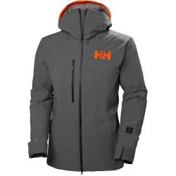 Helly Hansen Mens Firsttrack Lifaloft Winterjacke Grey M