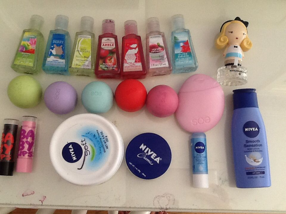 Hand Sanitizes Eos Lip Balm And Lotion Baby Lips Nivea Lotions And