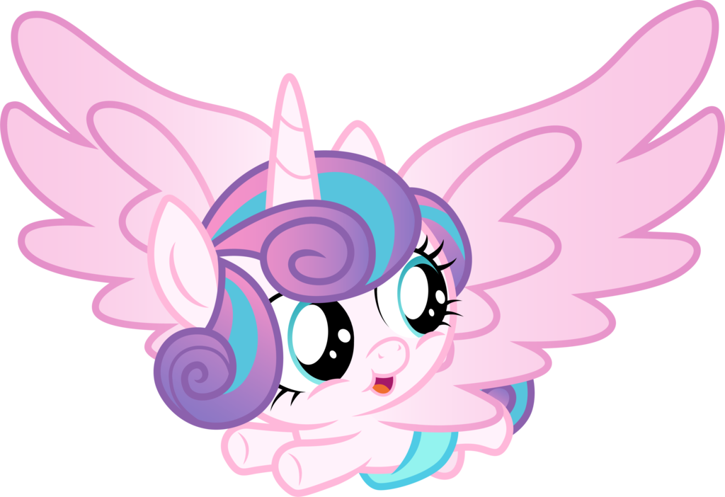 Flying Flurry Heart By Cloudyglow My Little Pony Wallpaper Flurry Heart Baby Pony