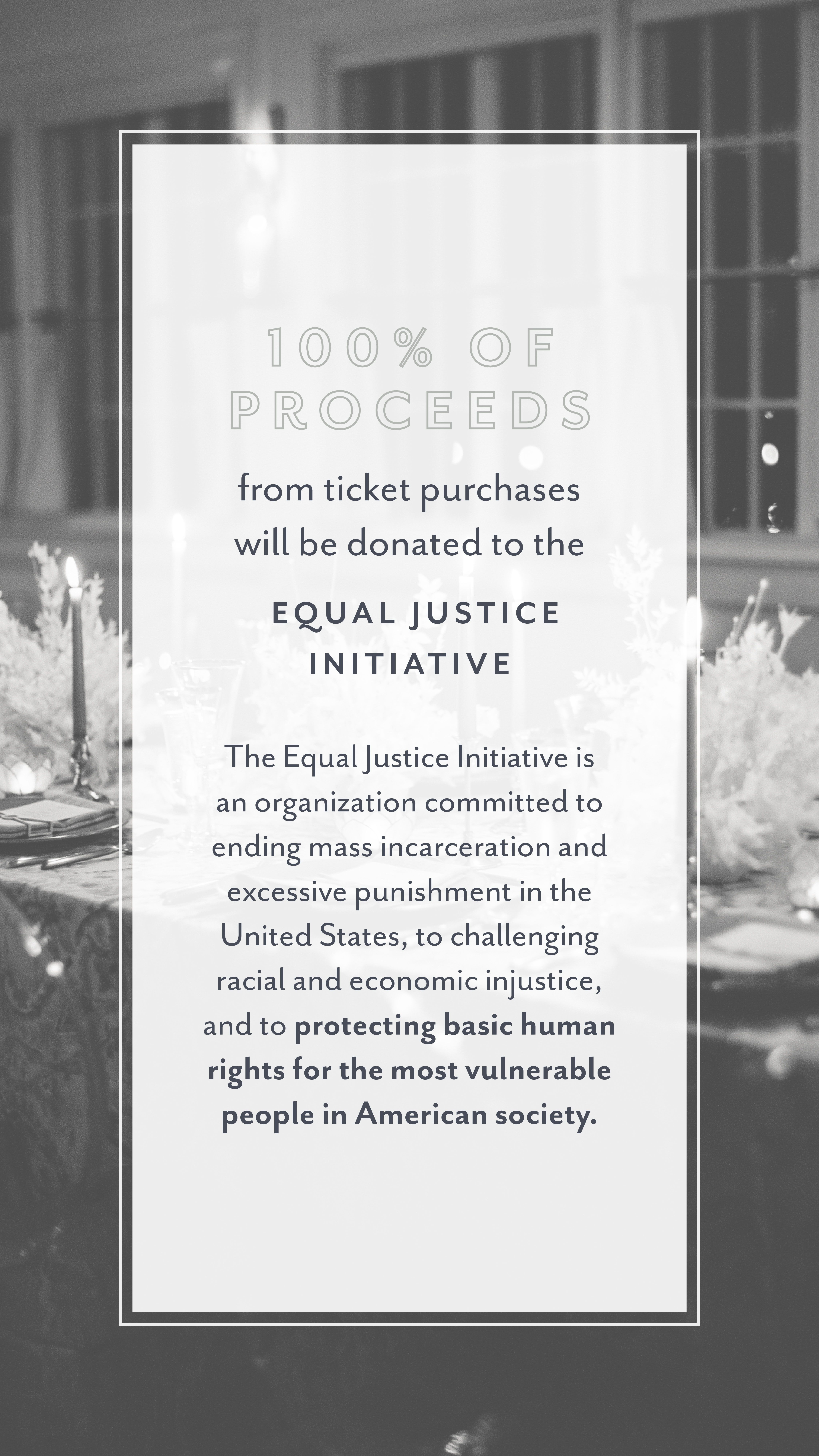 Purchase Your Ticket To Support The Equal Justice Initiative Wedding Planner Workshop Industrial Wedding Education