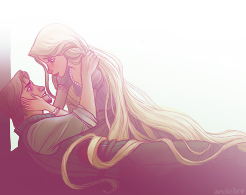 what once was mine by ~andells on deviantART (Rapunzel)