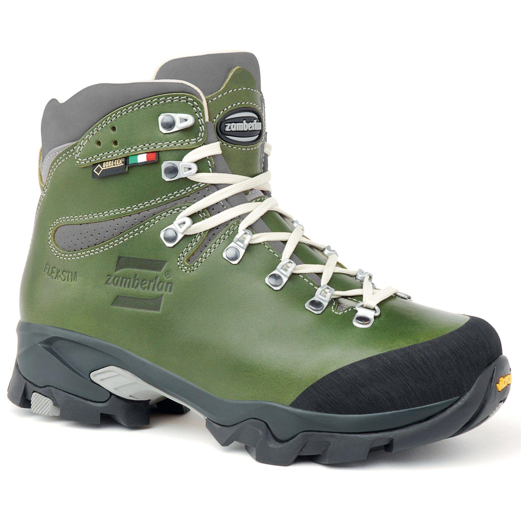 3bdf52802c8 Zamberlan Women's Vioz Lux GTX RR Hiking Boots Waxed Green 11 ...