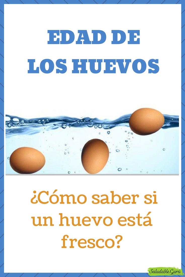 Edad De Los Huevos Cómo Saber Si Un Huevo Está Fresco Saludableguru Huevo Edad Fresco Podrido Saber Como Cáscara Rota Flota Agua Comer Eggs Food