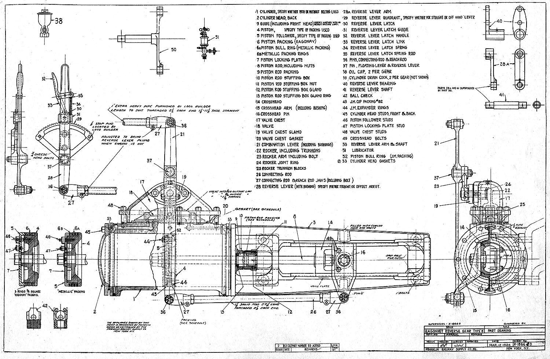 light mikado locomotive drawings