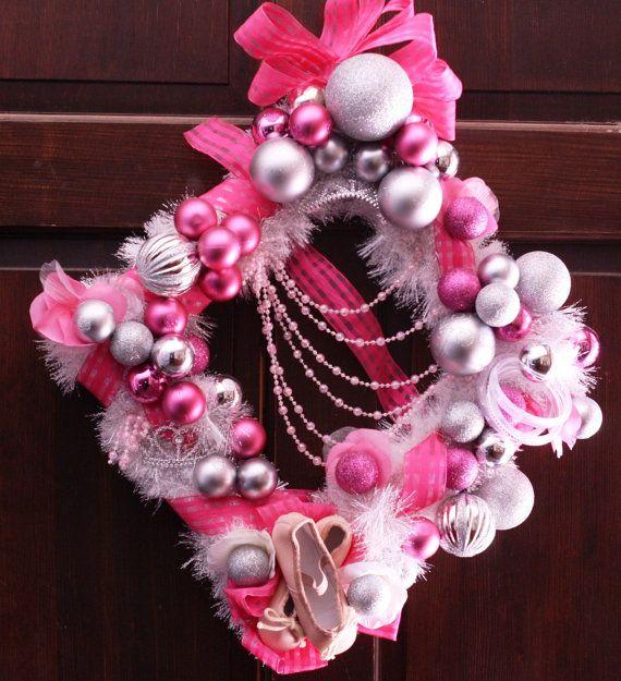 Ballerina girl wreath   Home Decorating Ideas   Pinterest ...