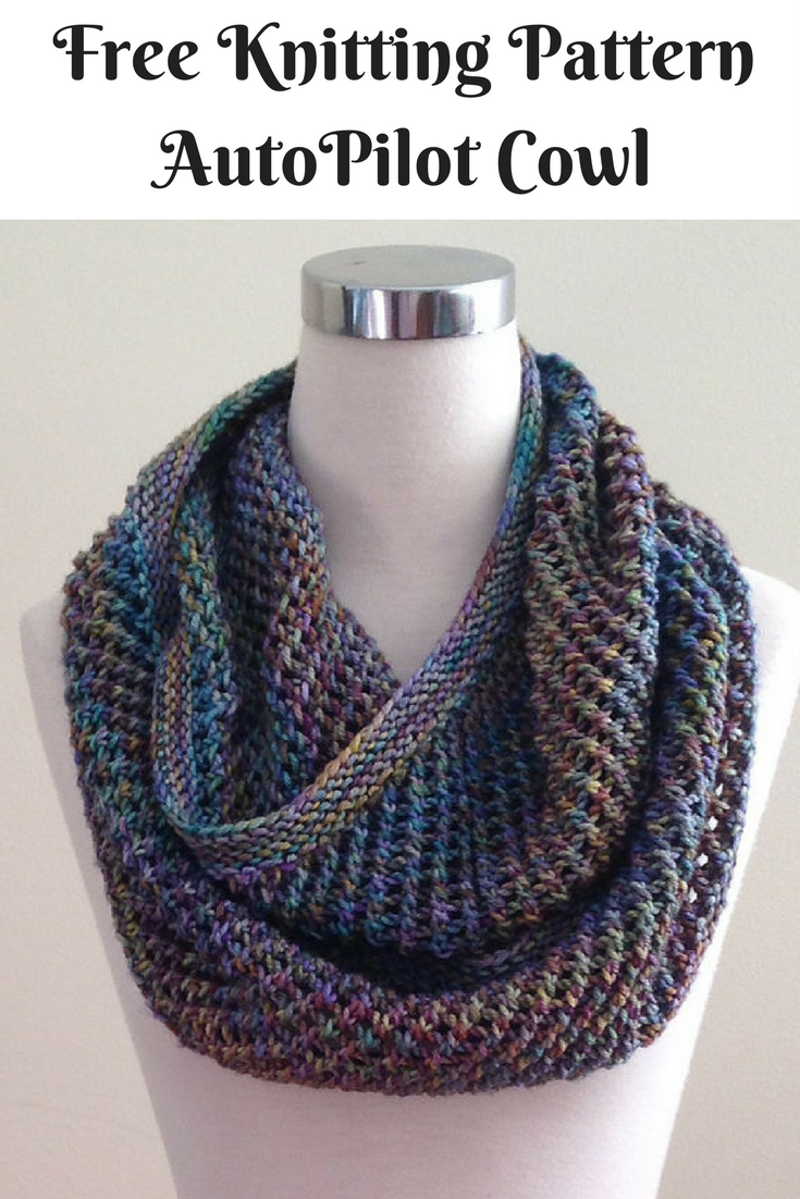 Free infinity scarf knitting pattern -Knitting Archives - New Craft ...