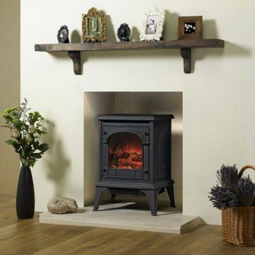 Gazco clarendon electric fire small design ideas in - Bedroom electric fireplace ideas ...