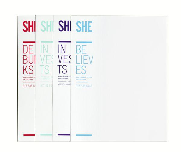 She Sustainable Health Enterprises By Blok Design  Via Behance
