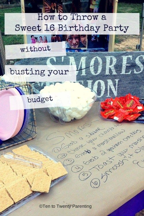 A Sweet 16 Birthday Without Blowing the Budget? Yes You Can! #sweet16birthdayparty