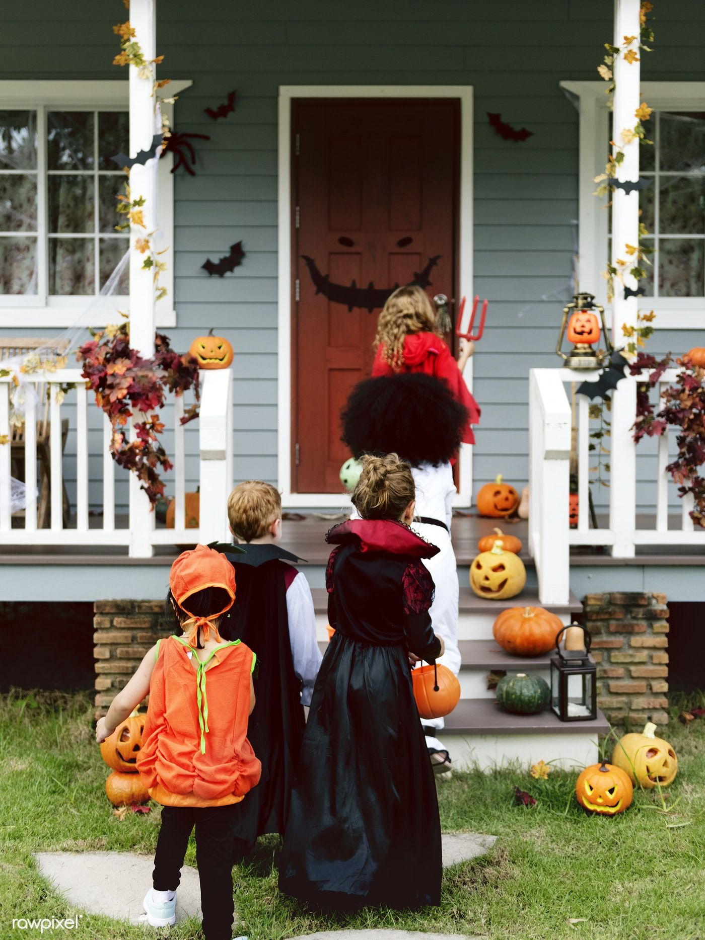 Download premium image of Little children trick or