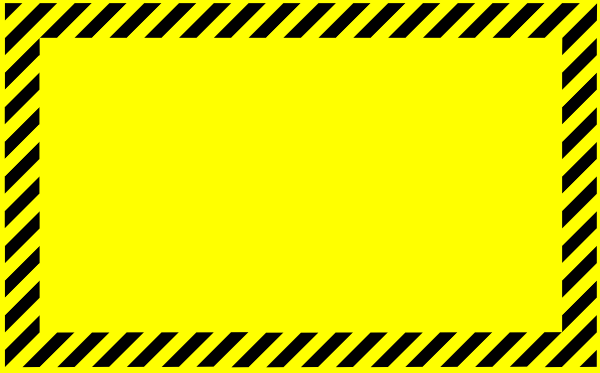 blank caution sign clip art free download at clipartkid com vector